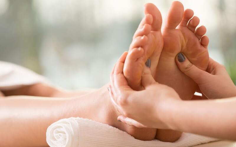 Refleksologia - masaż punktowy